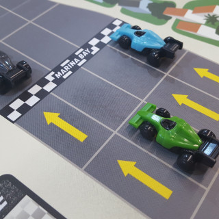 Racing & Betting In IELLO & Restoration Games' Downforce