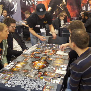 It's All Go At The Mythic Games Booth!