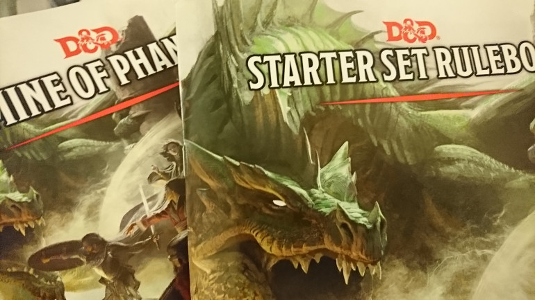 Well I got home from the Boot Camp and have had a few busy days, but the one thing that has arrived was the DnD starter set so it's time to start reading