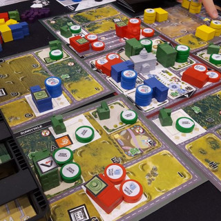Building A Better Future & Then Running It In Magnate: First City + Win Resin Buildings!