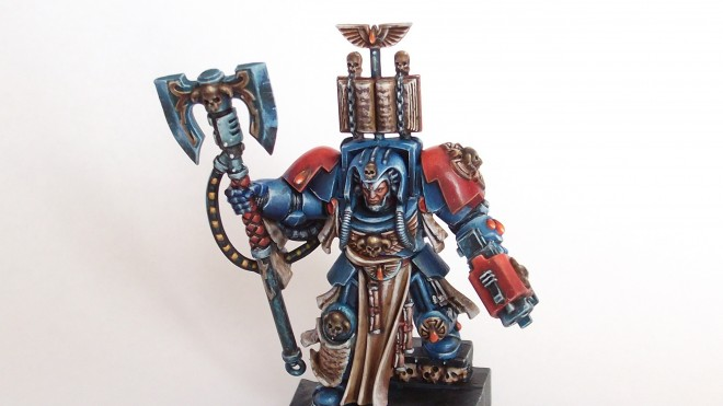 Painting Brother Calistarius