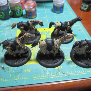 Exemplar Venger Horses - In Progress