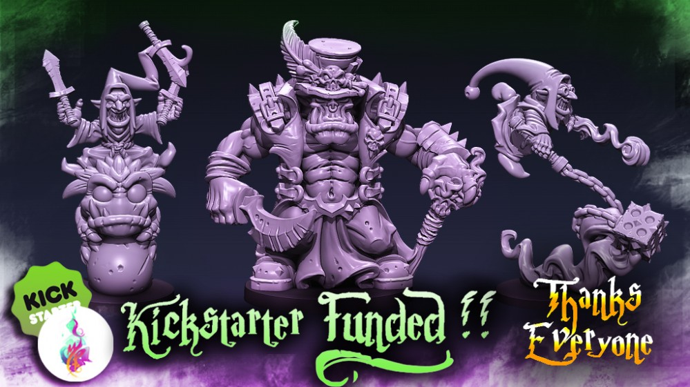 Orcs, Goblins, and Trolls Kickstarter – FUNDED – Thanks Everyone :)