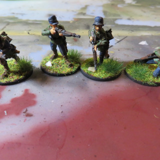 Final Squad for the Infantry support. A Gruppe of Luftwaffen-Bodentruppen (Airforce-ground-troops)