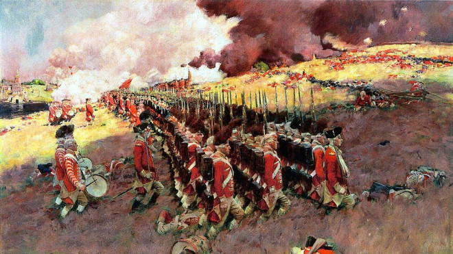 REBELS AND REDCOATS-War in the colonies