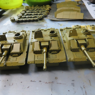 3 more Stugs are on their way to make the Zug (squadron) whole.
