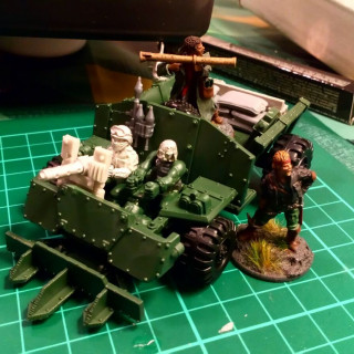 Converting an Ork truck for 7TV Apocalypse