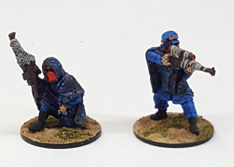 Sniper team ready for action