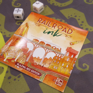 Ben Is Happy! Railroad Ink Has Landed At Essen SPIEL '18