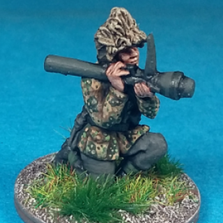 Waffen SS Erbsenmuster Camouflage Test