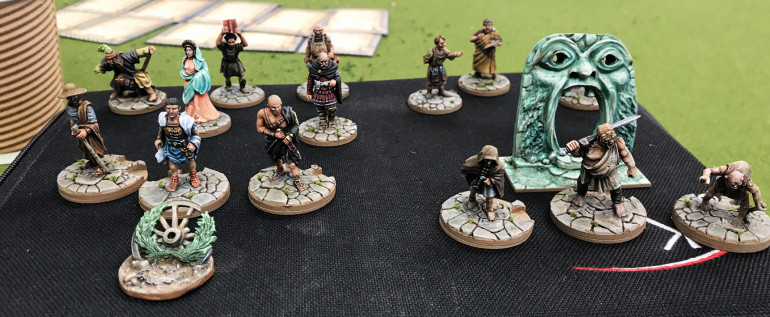 The Professionally painted new minis