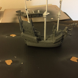 Building the ships and priming