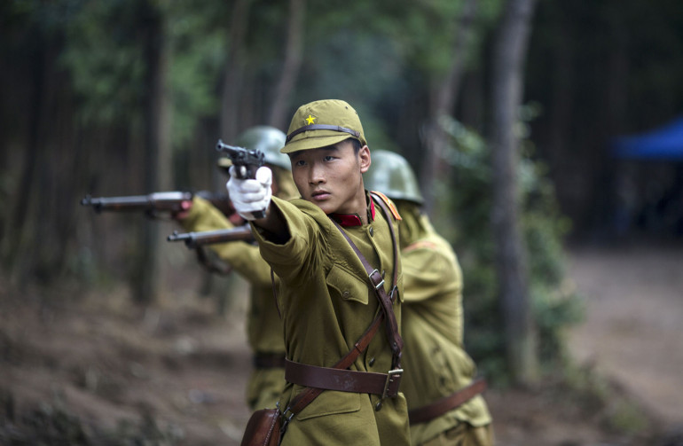 Chinese army (scene from TV series)