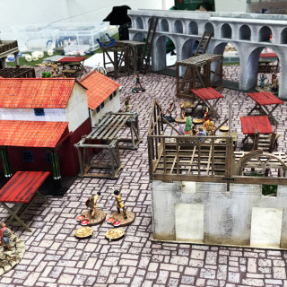 Governance of Derventio, Gangs of Rome Campaign Day, The Second Game