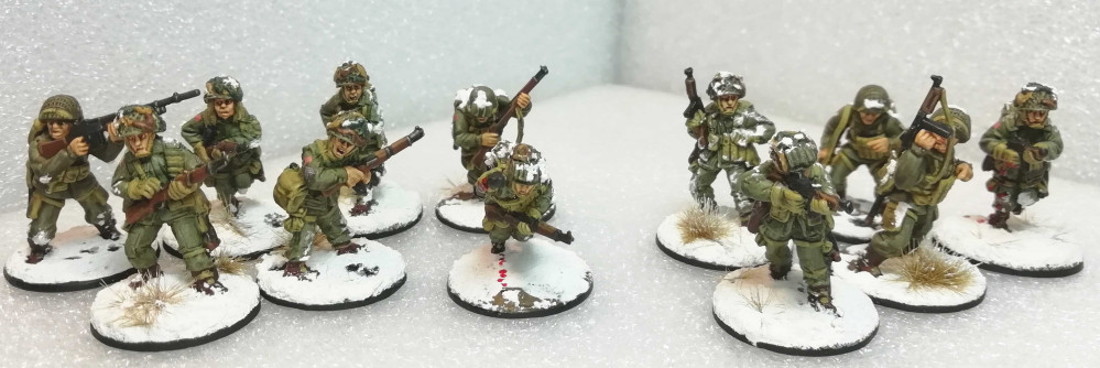E Company, 2nd Battalion, 506th PIR, 101st Airborne – a Band of Brothers Bolt Action project by Bothi