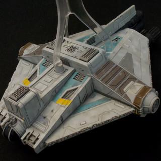 The GHOST for X-wing re-painted.