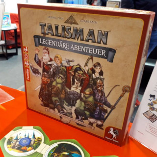 Pegasus Spiele Declares Showtime For Talisman + Win The Game!