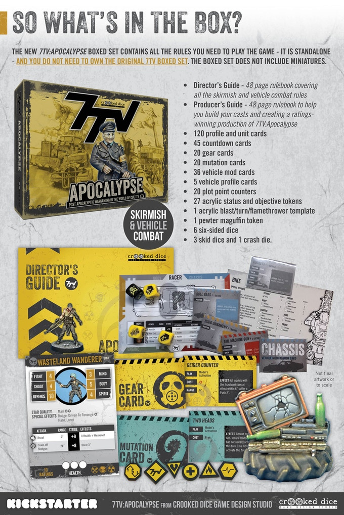 7TV Apocalypse Box - Crooked Dice
