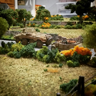 Normandy Table Set Up...