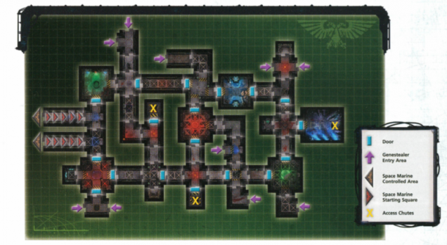 Corruption's Heart Mission Map