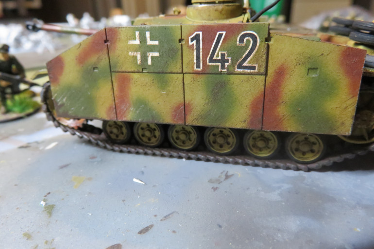 StuG III G of the Brigade. 1st battery 4th unit 2nd vehicle