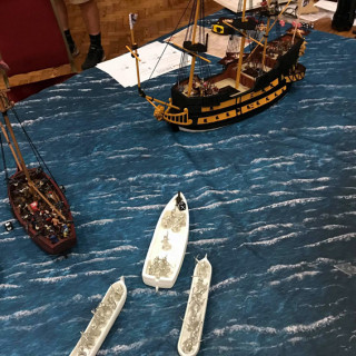 Another Big Sea Battle with a Big Ship