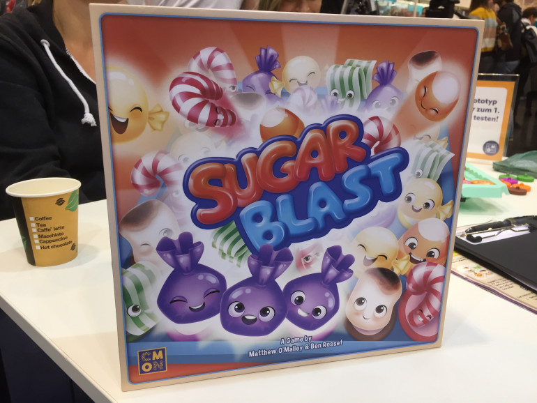 Getting A Peek At The Prototype For CMON's Sugar Blast!