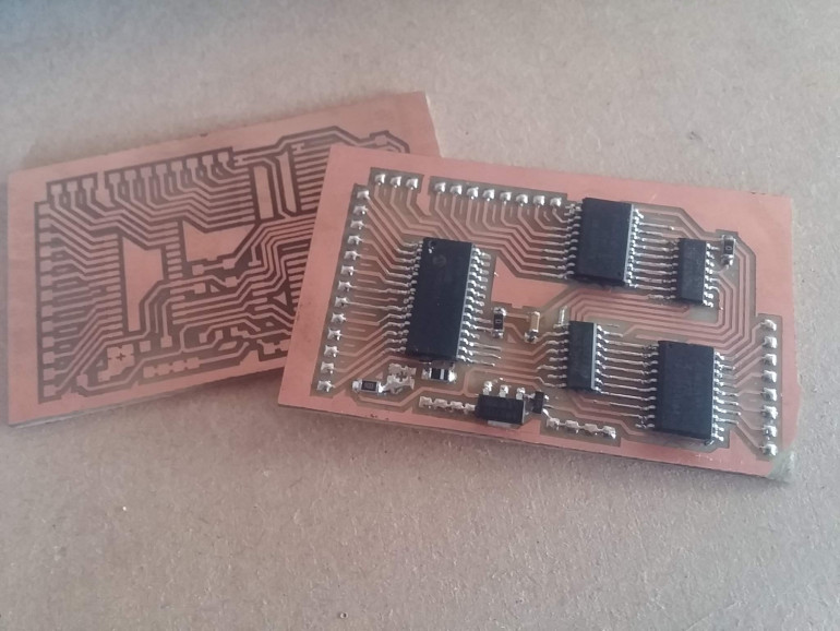 Home-etched PCBs