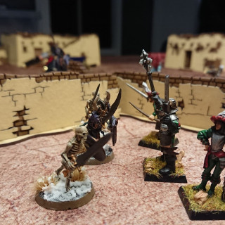 Trying out the rules of AOS skirmish