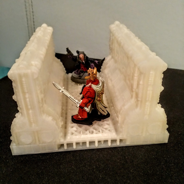 First (Successful) Corridor Print ~ 20 hours print time