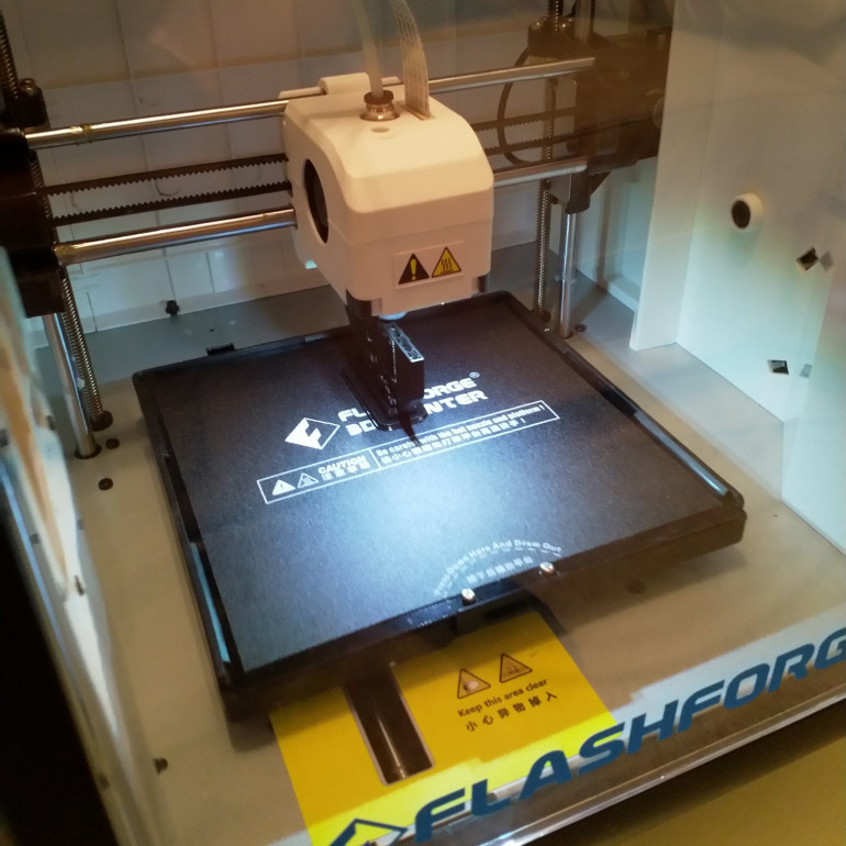 Flashforge Adventurer 3 Printing a Door