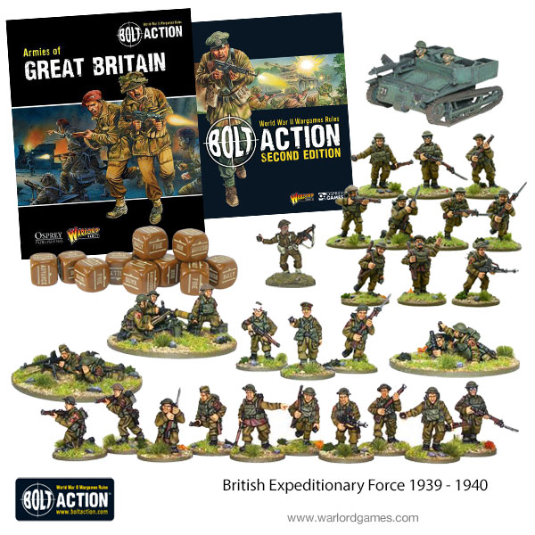 British Expeditionary Force - Warlord Games