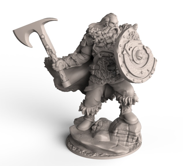 Campaign Exclusive Jarl - Wrathborn