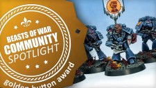 Community Spotlight: Dwarf Throngs, Crimson Fists & Oldhammer Heroes