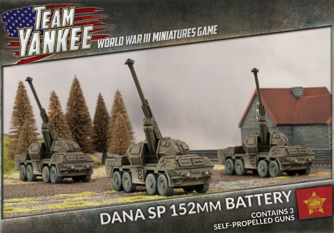 Dana SP 152mm Battery - Team Yankee