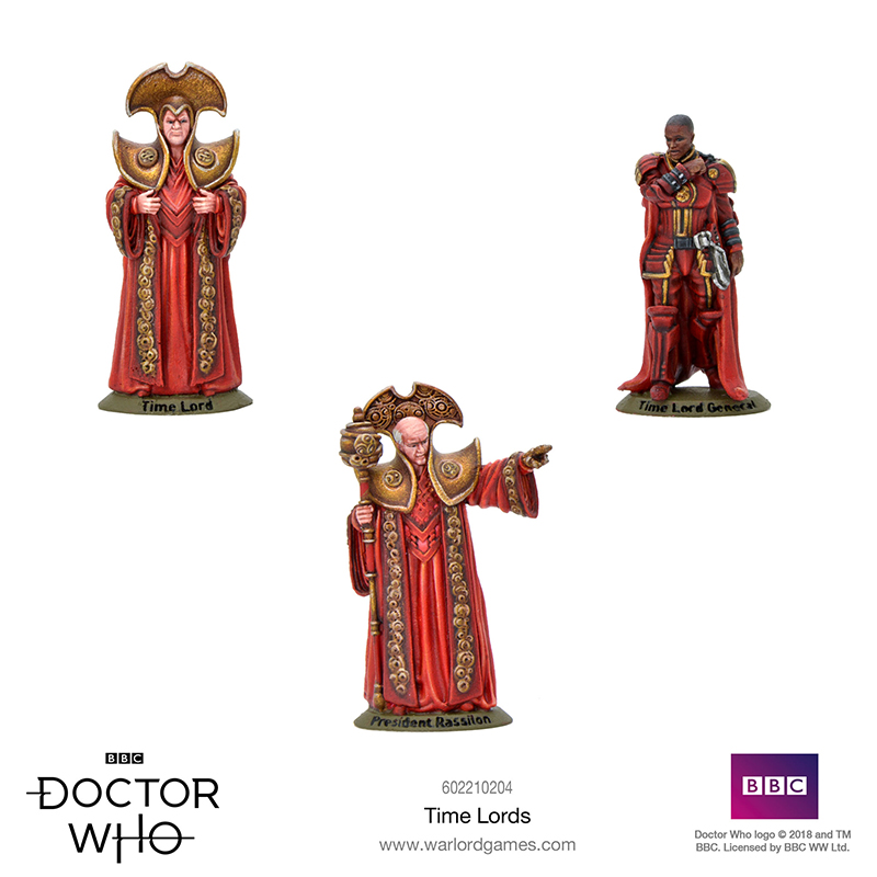 Doctor Who Time Lords - Warlord Games