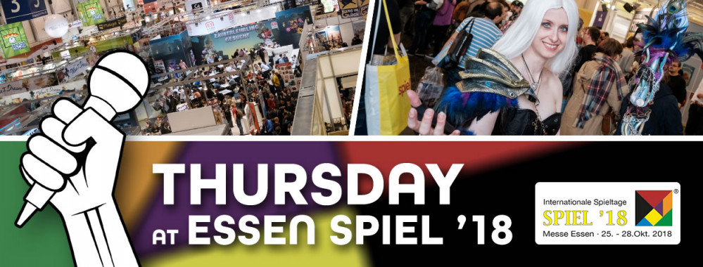 Essen SPIEL '18 Live Blog – Thursday