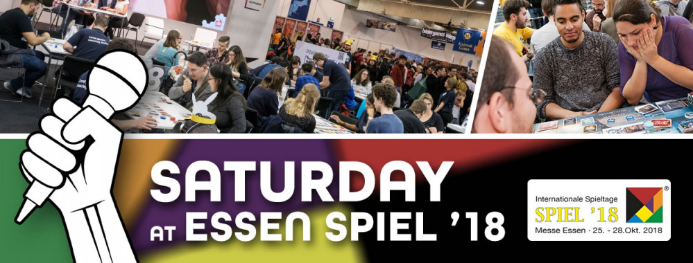 Essen SPIEL '18 Live Blog - Saturday