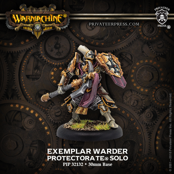 Exemplar Warder - Privateer Press