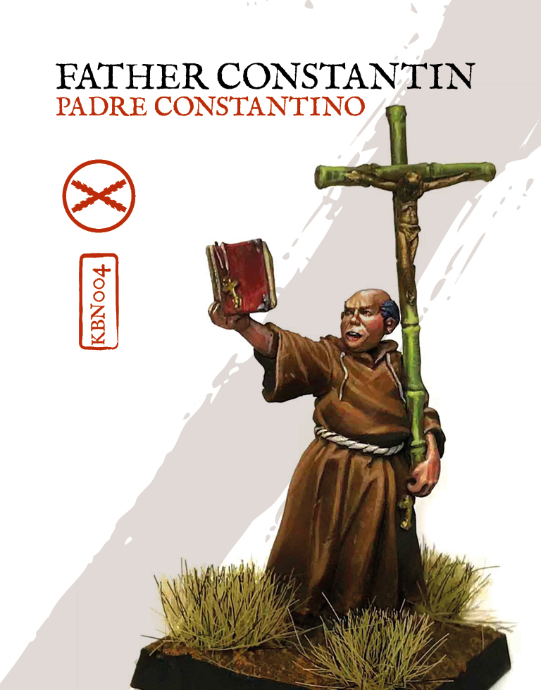 Father Contantin - Zenit Miniatures