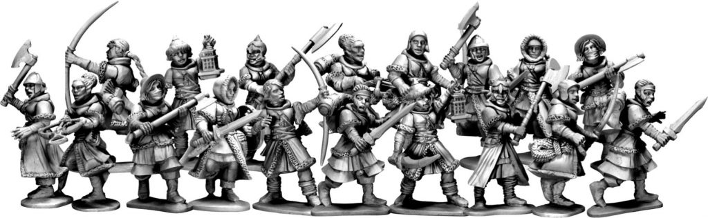 Frostgrave Soldiers II (Examples) - Frostgrave