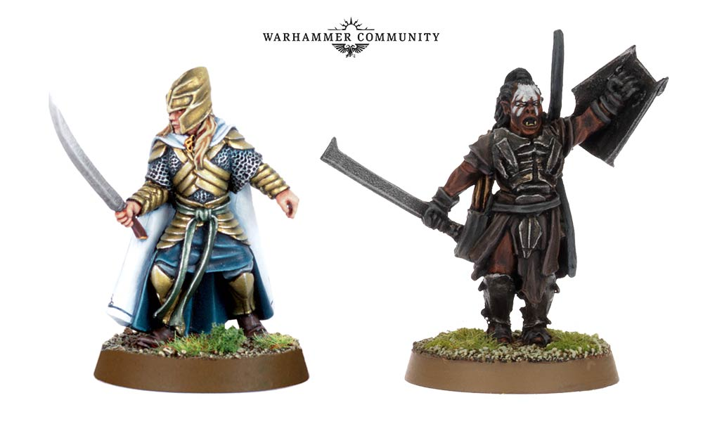 Glorfindel & Lurtz - Middle-earth Strategy Battle Game