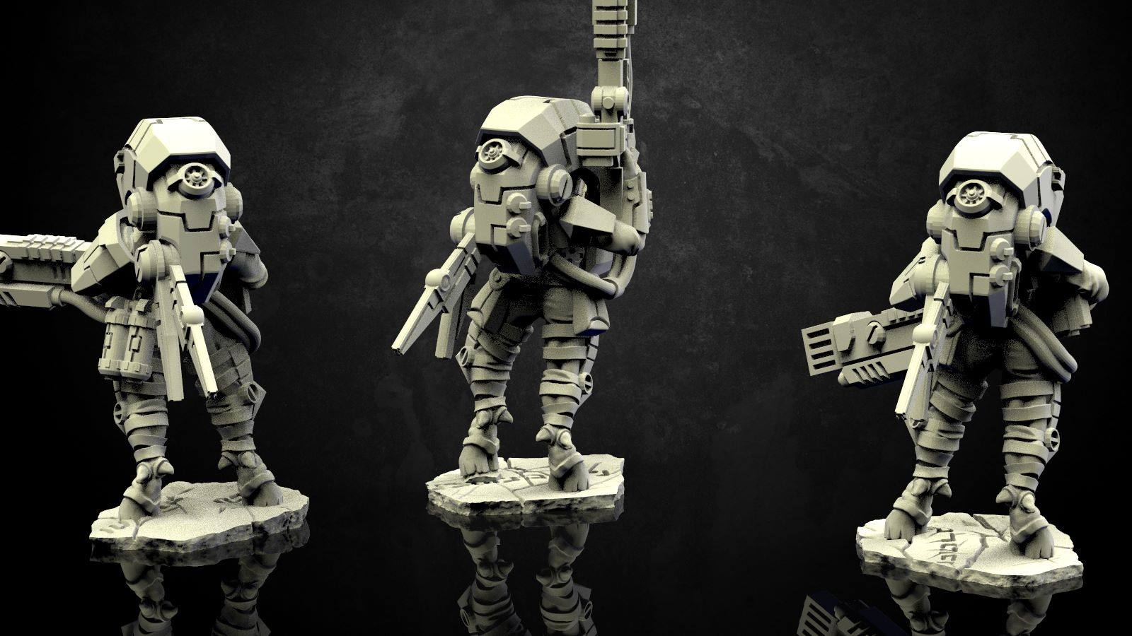 Wargame Exclusive Working On Stealthy Alien Operatives – OnTableTop