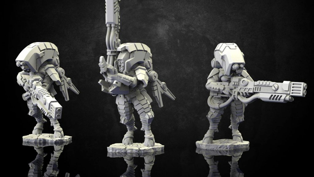 Greater Good Stealth Suits - Wargame Exclusive