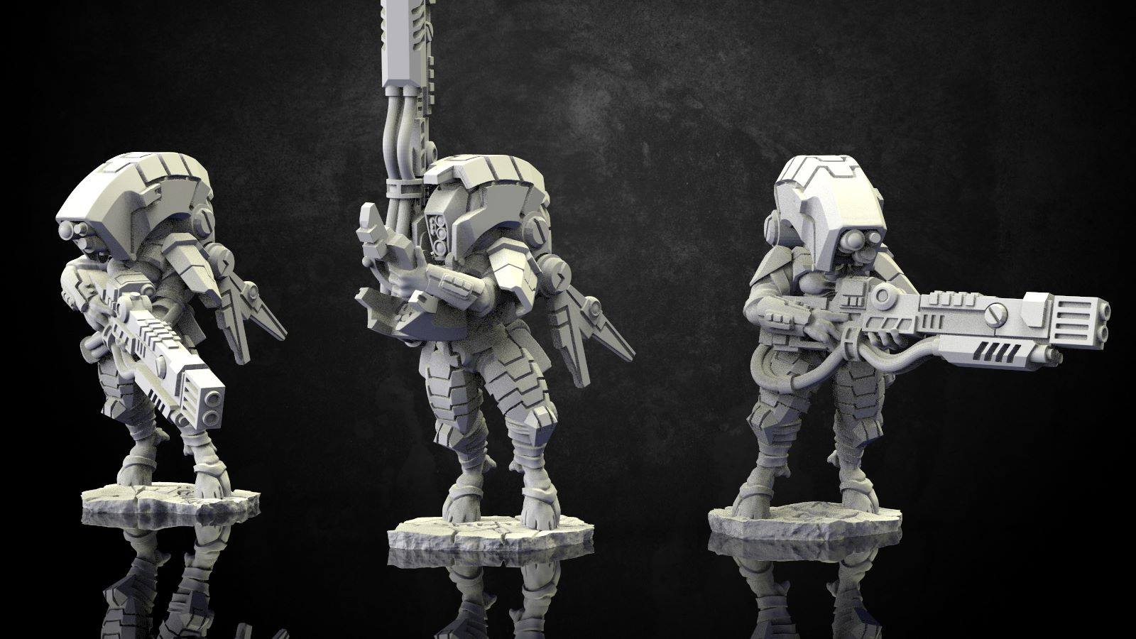 Wargame Exclusive Working On Stealthy Alien Operatives