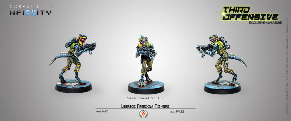 Infinity Third Offensive Libertos Freedom Fighter