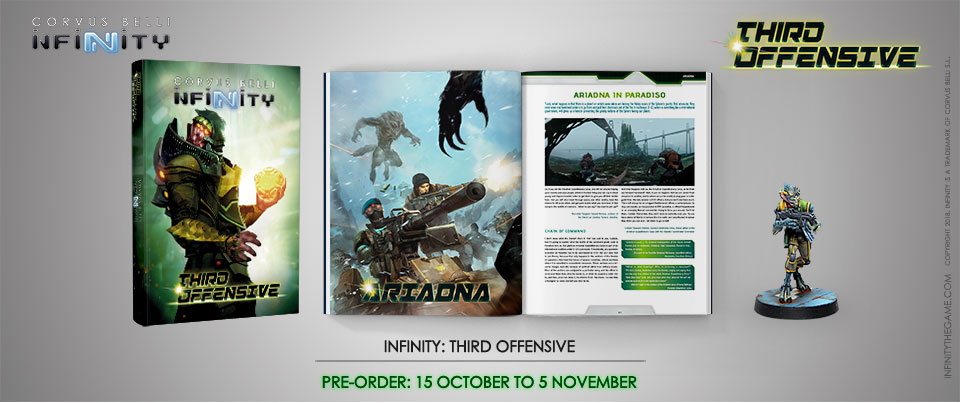 Infinity Third Offensive Pre-Order