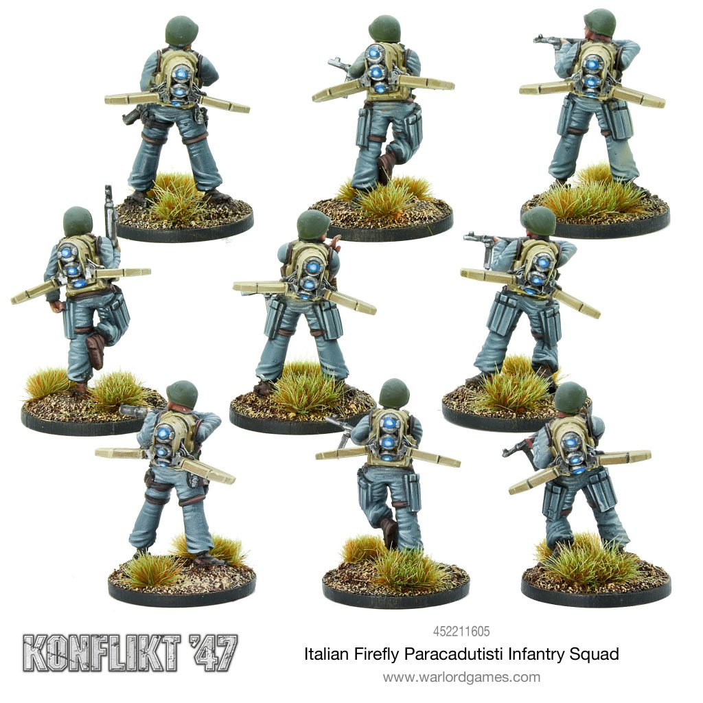 Italian Firefly Paracadutisti Infantry Squad #2 - Warlord Games
