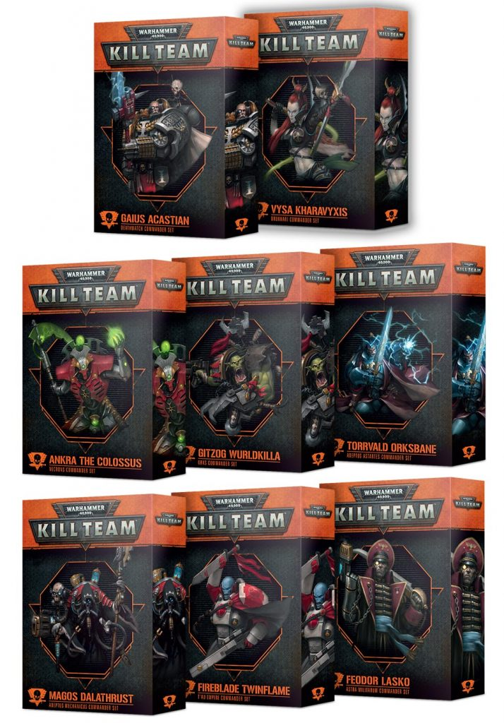 Kill Team Commanders Expansions - Games Workshop
