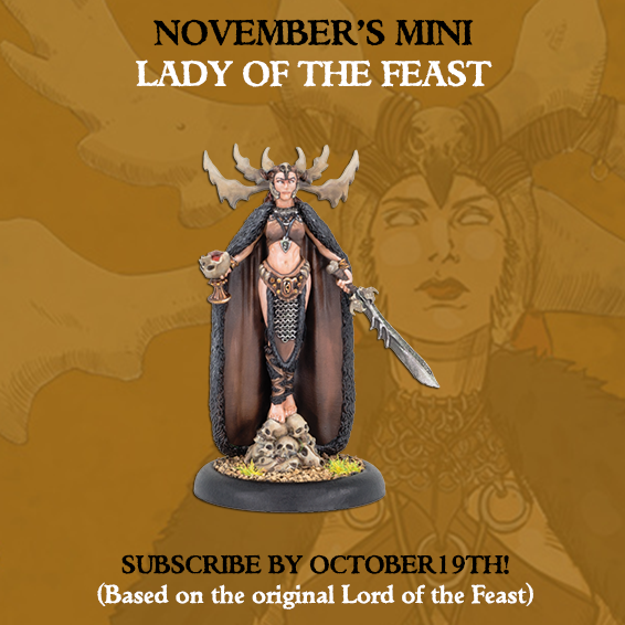 Lady Of The Feast - MiniCrate